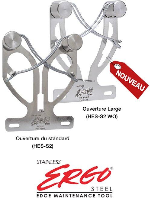 HES-S2 Ergo Steel en Inox