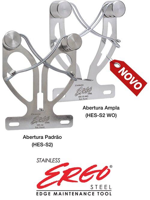 HES-S2 Ergo Steel em aço inox